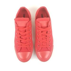 Converse All Star Low Monochrome Red